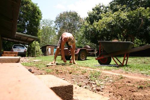 The Constant Gardener, Humpty Doo. (WWOOFing)