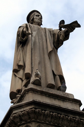 Statua Francesco Datini - Antonio Garella