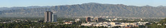 San Fernando Valley panorama high resolution (Brian Reynolds) Tags: 2005 california panorama mountain television landscape losangeles disney movies abc universalstudios sanfernandovalley warnerbros photostitch moviestudio