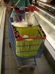 Saco de compras reutilizável