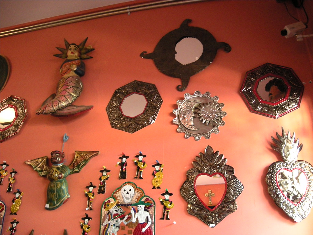 Mexican Wall Decorations at Cholo