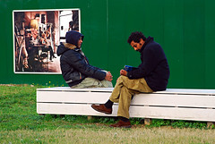 your life is not mine (Vulk.an) Tags: street people parco milan green bench reading interestingness milano explore portfolio garibaldi panchina nov1620071 8write 8stampa savevulkan