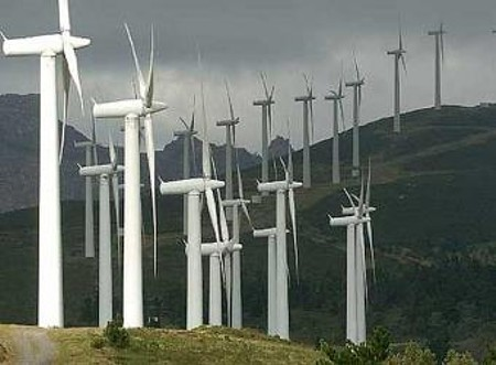 parque eolico en carnota
