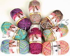 Tofutsies Sock Yarn at Little Knits