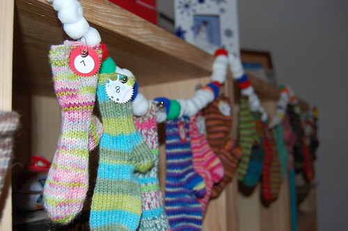 Advent sock calendar