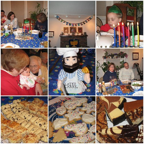 Chanukah Party Mosaic