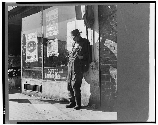 "No Known Restrictions: ""Skid Row"" San Francisco, 1937 by Dorothea Lange (LOC)"