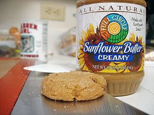 Sunflower Butter Cookie