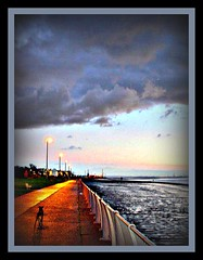 dusk at otterspool (~ paddypix ~) Tags: winter sky colour clouds liverpool shoreline picnik specialeffects moodyblues ukandireland hdrish thatsbostin scenicsnotjustlandscapes ~wevegotthepower~