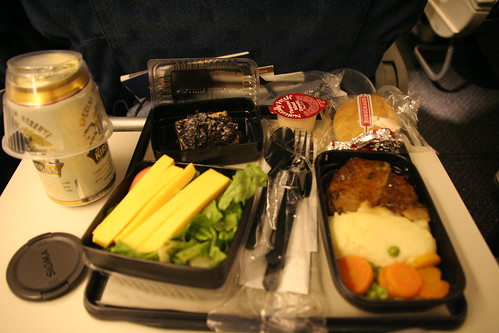 united airlines meal