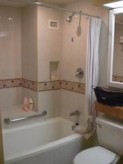 our bathroom at 'Catalonia Riviera Maya'