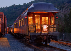 Twilight - Niles Canyon Railway (Oldvidhead) Tags: longexposure nightphotography railroad museum train twilight nikon eric long exposure railway trains historic railcar moonlight eastbay bluehour nikondigital hdr magichour larson railcars alamedacounty niles sunol railroadmuseum nocturnes nilescanyonrailway ericlarson photomatix nilescanyon nocturnalphotography oldvidhead historicrailroad nilescanyonrailroad mywinners photomatixhdr goldengaterailroadmuseum noctography historictrains elarson pacificlocamotiveassociation historictrainmuseum