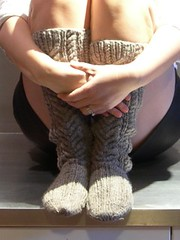 Tyrolean Stockings completed