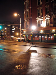 Carmine Street by forklift, on Flickr