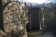 Pelham Mill Dam Upstream