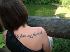 #Explore# Help from my friends (DeniSomera) Tags: amiga carla tatoo tatuagem unilivre withalitlehelpfrommyfriends exploredoflickr