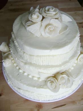 class wedding cake
