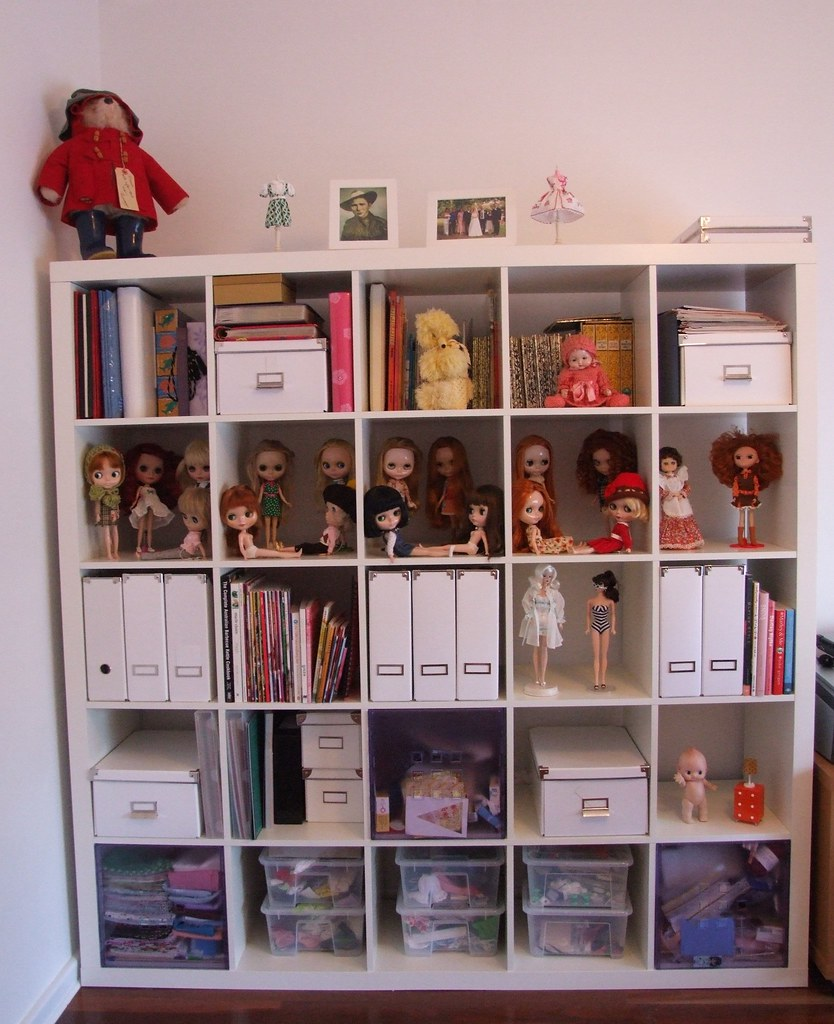 Tidied the Expedit last night and this morning