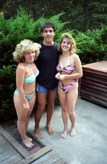 Pool Party 1990 (Joe Shlabotnik) Tags: rob bikini 1990 poolparty katieo faved stephanieb august1990 16dundalkroad