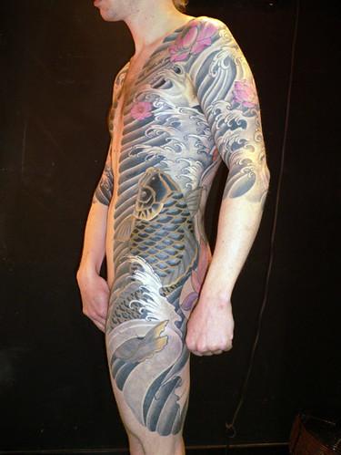 Labels Amazing Japanese Tattoo Design