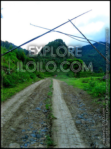 Rough road to Sitio Tabionan
