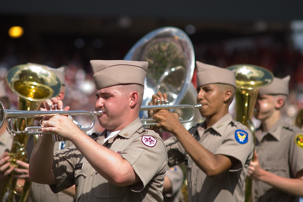 Aggie Band Fall 2007 - 6 by StuSeeger, on Flickr