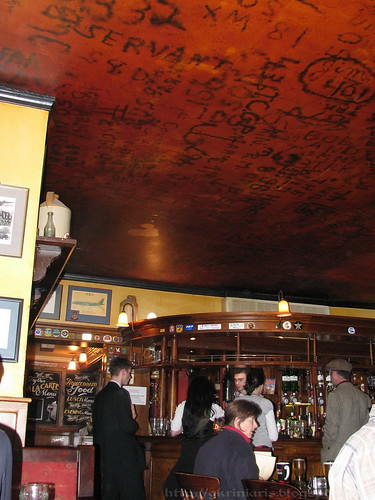Eagle Pub ceiling
