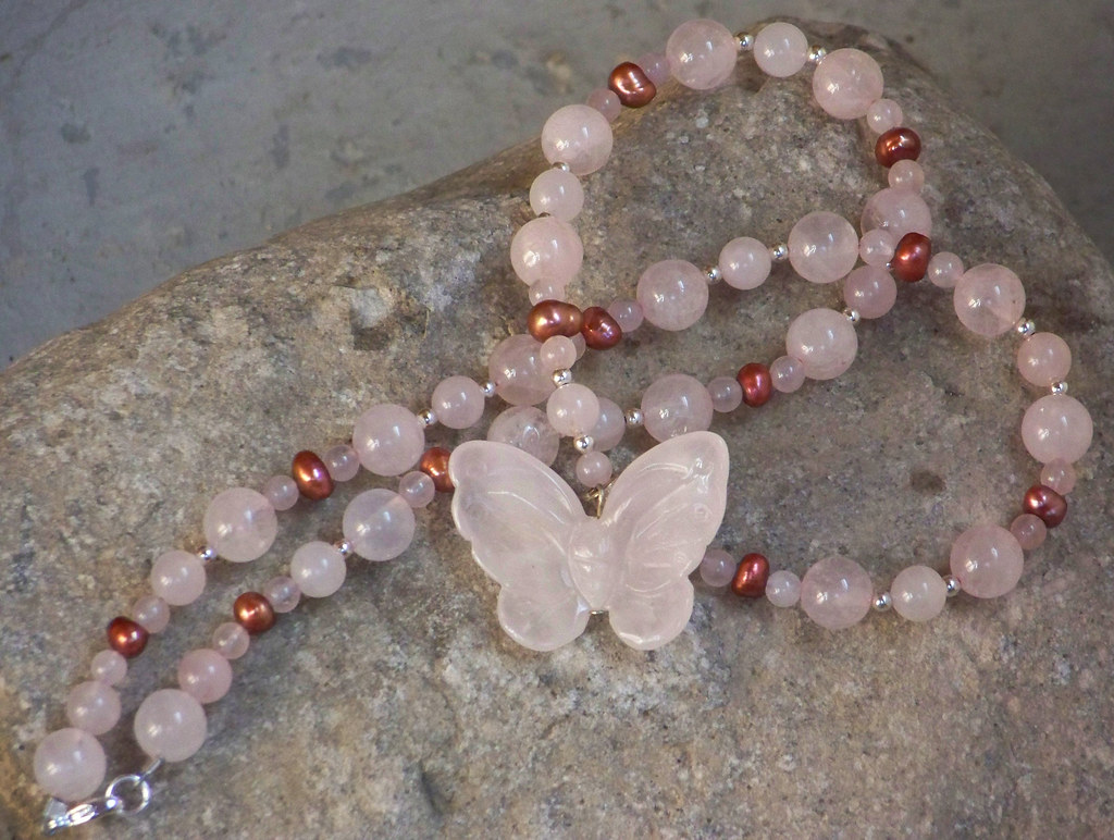 The Rose Butterfly Effect Necklace