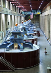 Talkin' 'bout my Generation (Mondmann) Tags: power dam nevada hooverdam lakemead generators electricity boulderdam nikond60 generatorroom