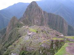 Machu Picchu, the postcard