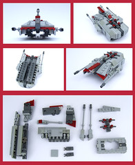 UT-AT (Rogue Bantha) Tags: starwars lego mini clonewars utat unstableterrain