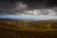 View from Snaefell (There and back again) Tags: mountain holiday storm clouds photoshop valley isleofman snaefell superaplus aplusphoto topazadjust