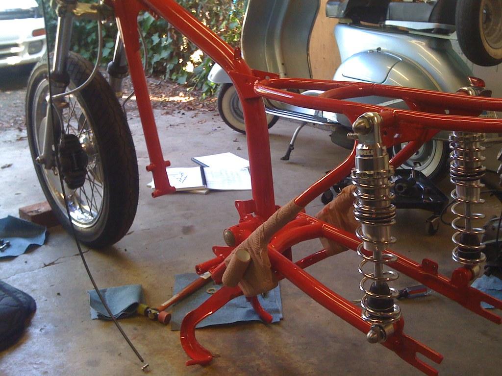 Ducati 250 single build thread