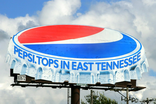 Pepsi Bottle Cap Billboard