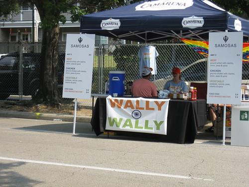 Wally Wally booth (samosas!)