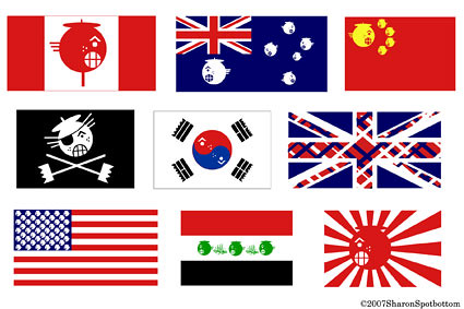 sharon_flags