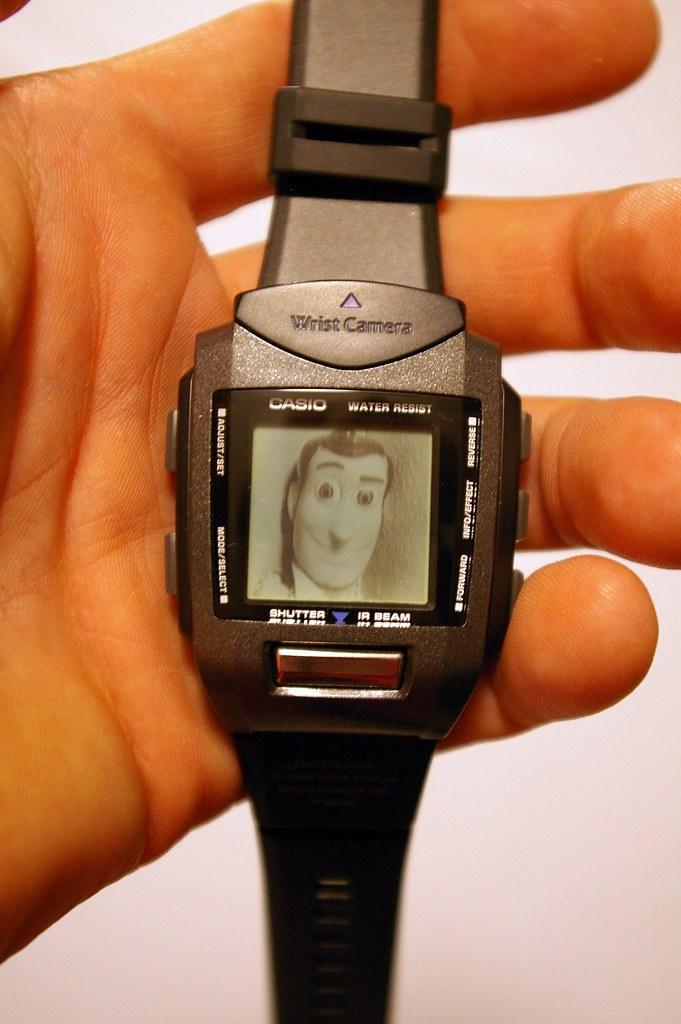 day 81 - Casio WQV-1 Wrist Camera