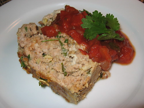 Chipotle Turkey Meat Loaf on Closet Cooking