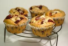 Strawberry Ricotta Muffins (Os Sutrisno) Tags: food muffins baking strawberry nikon ricotta d80 myfacebook