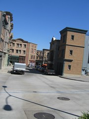 Universal back lot buildings (Wetchman) Tags: honeymoon rizzo wetjen