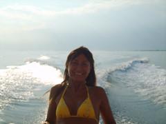 ilde (she_joker87) Tags: new trip travel summer people italy fun barca italia mare samsung persone pesci tramonti amici medusa gatto bibione biancoenero vacanze sharmayne bananaboat abbracci