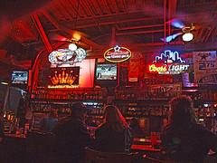 """Does Fort Worth ever cross your mind?"" (Texas Finn) Tags: light man girl basketball bar club night stars fan couple downtown cap smokey bud budweiser coors barstool supershot impressedbeauty superbmasterpiece diamondclassphotographer"