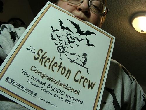 Skeleton Crew challenge: met