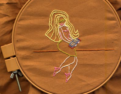 Librarian Embroidery