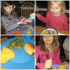 Young Chefs make dinner