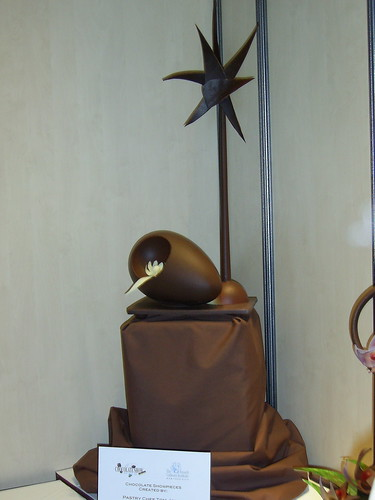 chocolate sculpture in NYC