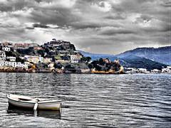 Baia (Giusy Iescone (cantoliberox)) Tags: sea italy boat barca mare napoli hdr baia vob mywinners aplusphoto fujis9600