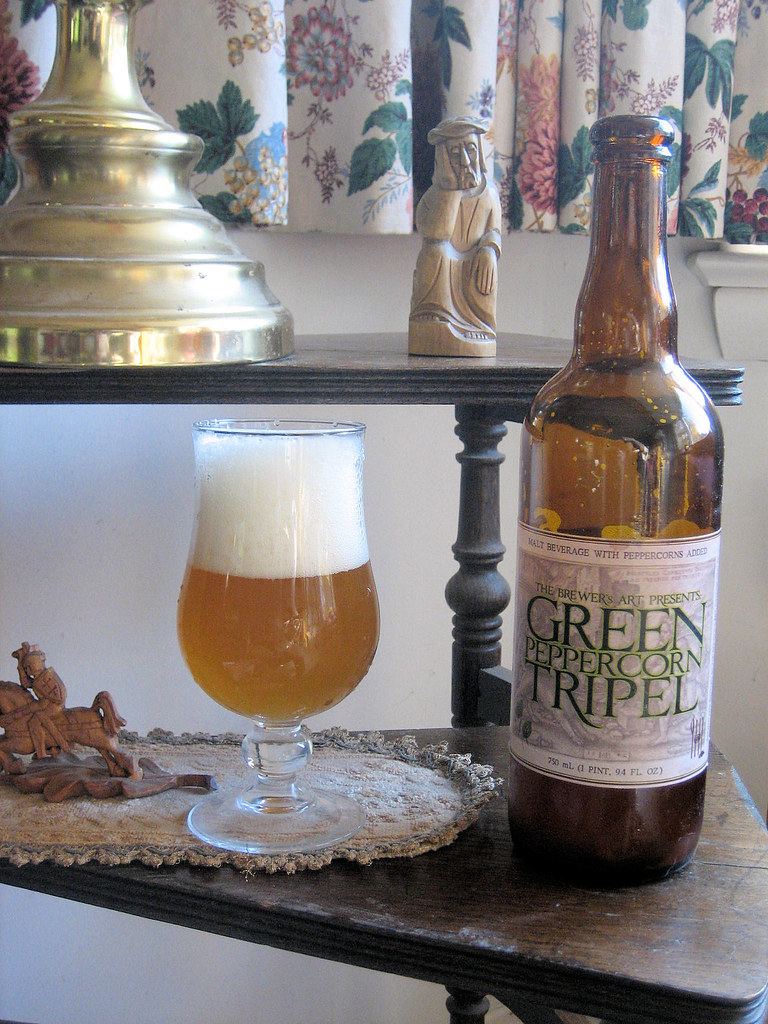 Brewer's Art Green Peppercorn Tripel