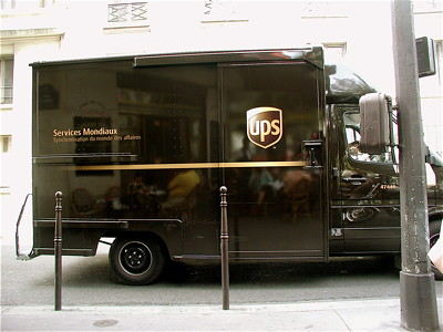 UPS Truck in Paris