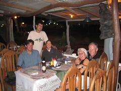 Danny (from Israel), La Pepa, Me, Jim and Vivian (from Canada)